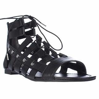 Bar III Reese Women Open Toe Synthetic Gladiator Sandal