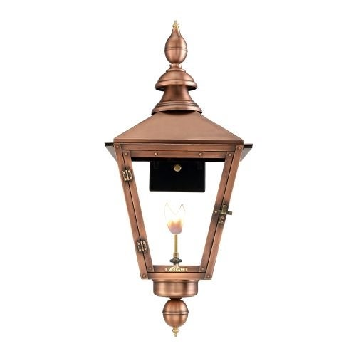 "Primo Lanterns CT-31G Charleston 30"" Wide Outdoor Wall-Mounted Lantern Natural Gas Configuration"