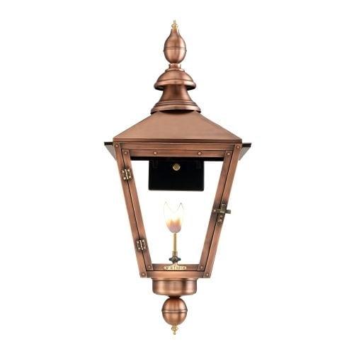 "Primo Lanterns CT-31G Charleston 30"" Wide Outdoor Wall-Mounted Lantern Natural Gas Configuration"