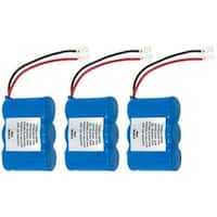 Replacement Panasonic KX-A36 NiCD Cordless Phone Battery (3 Pack)