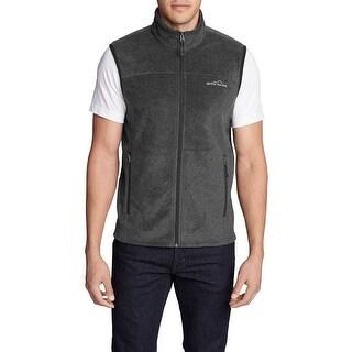Eddie Bauer Men Quest 200 Fleece Vest Jacket - Small