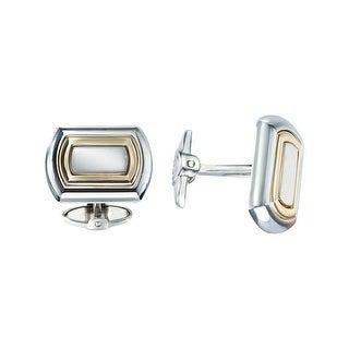 Dolan Bullock Sterling Silver & 14K Gold Men's Cufflinks - Two-tone