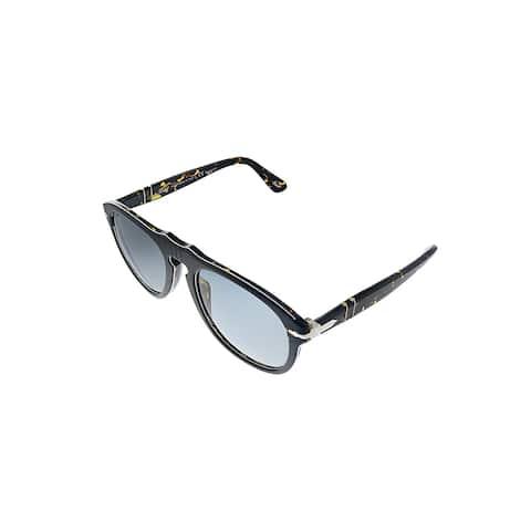 Persol PO 649 1093P2 54mm Unisex Grey Frame Grey Polarized Lens Sunglasses
