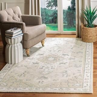 Safavieh Handmade Micro-Loop Heidegunde Wool Rug