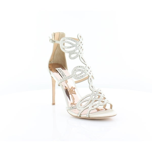 Badgley Mischka Teri Women's Sandals & Flip Flops Ivory
