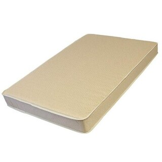 L A BABY 3509-ORGQ 3-Inch Thick Compact Crib Mattress With Organic