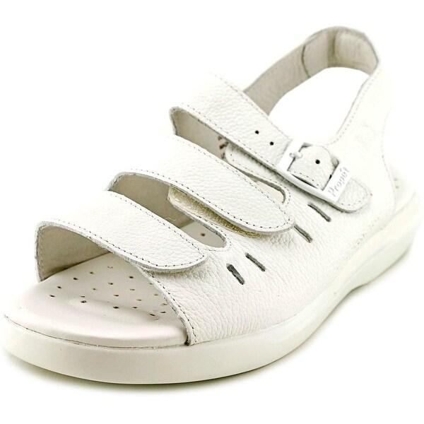 Propet Breeze Walker White Sandals