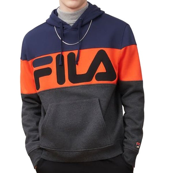 e892fef65eb6 Shop Fila Mens Flamino Fleece Hoodie, Adult - On Sale - Free Shipping Today  - Overstock - 25722427