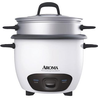 Aroma Housewares 6 Cup Steamr/Rice Cooker ARC-743-1NG Unit: EACH