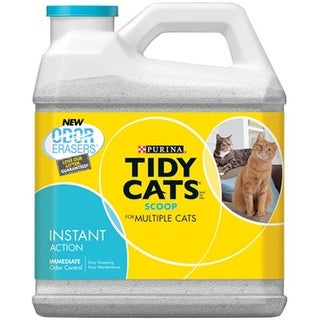 Tidy Cats 11720 Instant Action Scooping Cat Litter, 20 lbs.