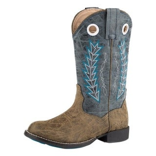 "Roper Western Boots Boys Hole In Wall 9.5"" Shaft"