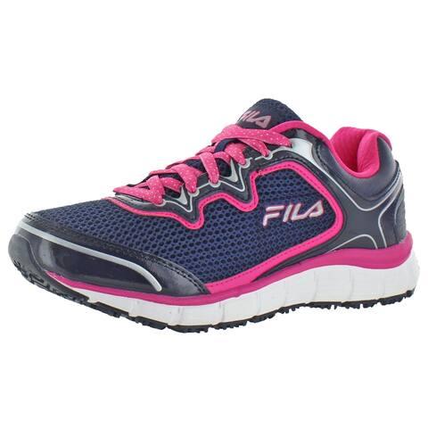 Fila Women's Memory Foam Fresh Start Slip Resistant Sneakers Shoes