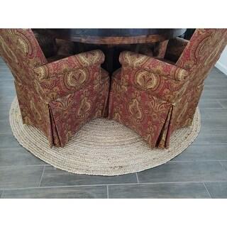 Shop Unique Loom Dhaka Braided Jute Area Rug - On Sale - Free