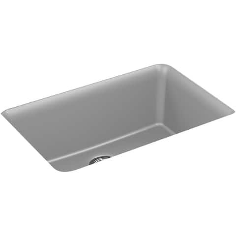 "Kohler K-28000 Cairn 27-1/2"" Undermount Single Basin Composite Kitchen"