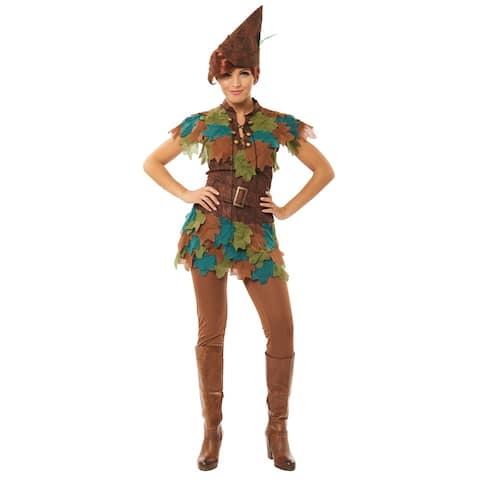 Womens Peter Pan Hook Halloween Costume