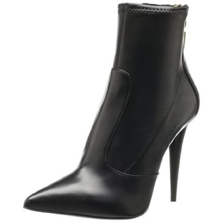 Giuseppe Zanotti Design Womens Ester Leather Pointed Toe Ankle Boots