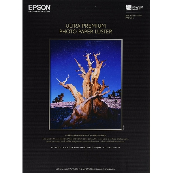 Epson Print - Epson Glossy Photo Paper - A3 (11 In X 16In)