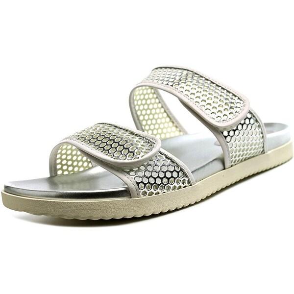 Easy Spirit Maelina Women  Open Toe Synthetic Silver Slides Sandal
