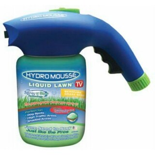 Hydro Mousse 17000-6 Liquid Lawn Bermuda Grass Seed, Spray-n-Stay, As Seen On TV