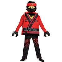 Disguise Kai Movie Deluxe Child Costume - Red/black