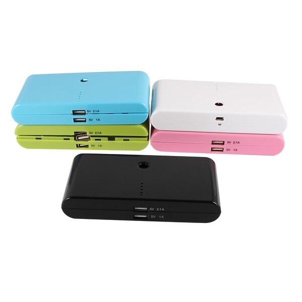 Unique Bargains Multicolor USB Power Bank LED Light 18650 Battery Charger DIY Box 14cm 5 Pcs
