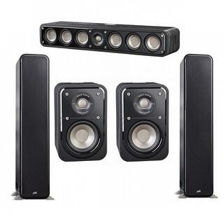 Polk Audio Signature 5.0 System with 2 S55 Speakers, 1 Polk S35, 2 Polk S10 Speakers