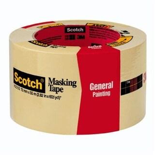 "Scotch 2050 2.83X60 Masking Tape, 2.83"" x 60yd"
