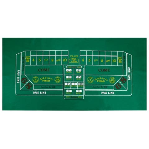 Craps Table Felt - As Pictured