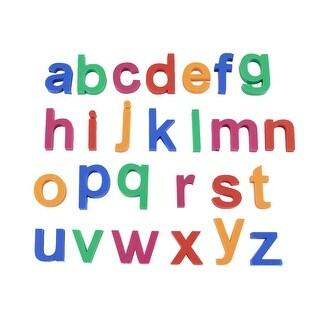 Unique Bargains Whiteboard File Cabinet Fridge Refrigerator Alphabet Letter Magnets Set