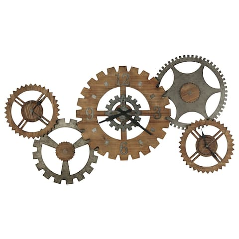 Howard Miller Cogwheel III Gallery Wall Clock