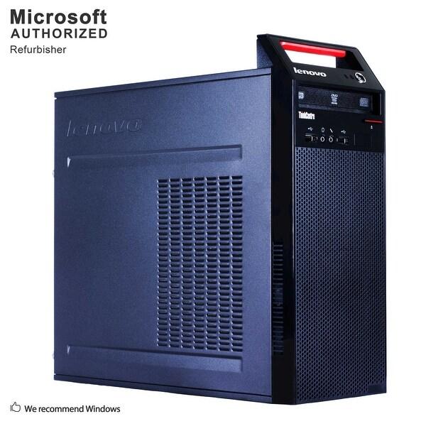 Lenovo E73 TW Intel i3-4130 3.40GHz, 12GB RAM, 3TB SSD, DVD, WIFI, BT 4.0, HDMI Adapter, VGA, DP, WIN10P64(EN/ES)-Refurbished