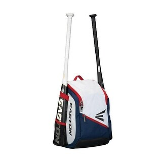Easton Game Ready Youth Backpack (Red/Navy/White)
