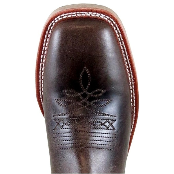 Smoky Mountain Mens Parker Western Boot Square Toe