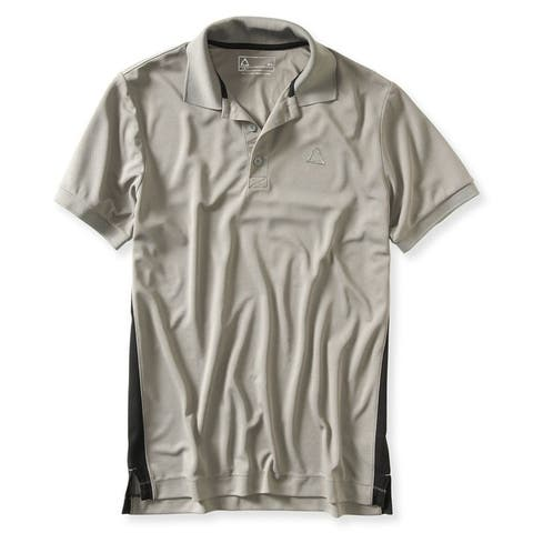 Aeropostale Mens A87 Wick Away Rugby Polo Shirt