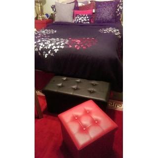 Chic Home 8-Piece Chelsia Black Comforter Set