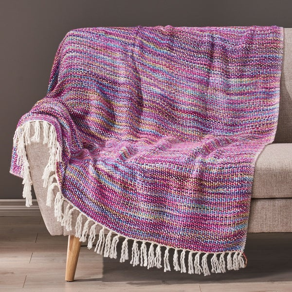 Dymond Boho Fabric Throw Blanket by Christopher Knight Home. Opens flyout.