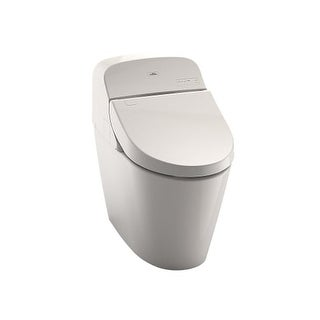 toto ms920cemfg one piece elongated dual flush toilet with washlet 3d tornado flush and