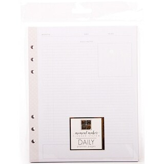 Dcwv Moment Maker Planner System Inserts-Daily Professional
