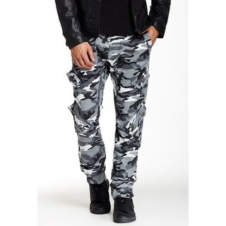 Royal Premium Young Men's Camouflage Twill-Cargo Jogger Pants