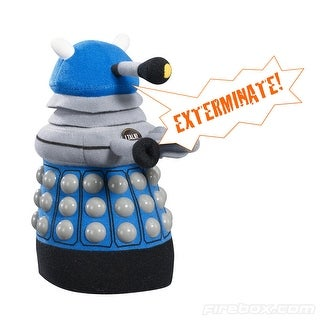 Doctor Who Medium Talking Plush: Blue Dalek
