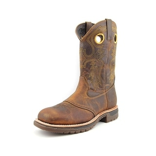 Rocky Original Ride Steel Toe Square Toe Leather Western Boot