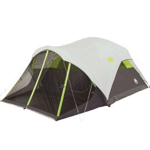 """""""Coleman Steel Creek Screened 6 Person Tent Pitch Screened Dome Tent 6 Person"""""""