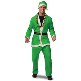 Promotional Flannel Santa Suit