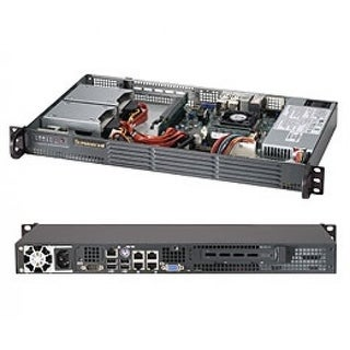 Supermicro Superchassis 504-203B 1U - 1 X Bay - 1 X 200 W - Mini Itx Motherboard Supported / Cse-504-203B /