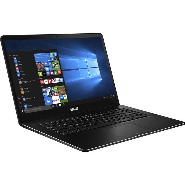"Manufacturer Refurbished - Asus UX550VE-XH76T 15.6"" Touch Laptop i7-7700HQ 2.8 16GB 1TB SSD GTX 1050Ti W10"