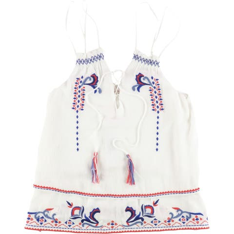 Parker Womens Robin Baby Doll Blouse