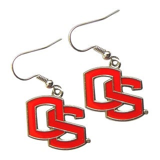 Oregon State Beavers Dangle Logo Earring Set NCAA Charm Gift