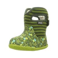 Bogs Boots Girls Baby Classic Flower Stripe WP Rubber