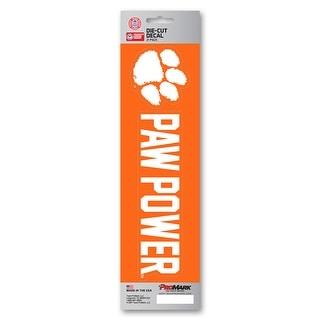 Clemson Tigers Decal Die Cut Slogan Pack