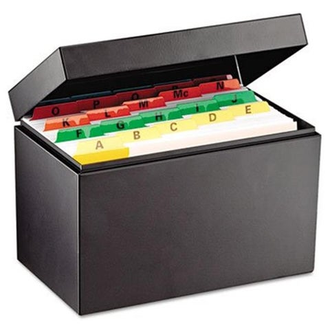 Index Card File Holds 500 5 x 8 cards 8 3/4 x 5 1/8 x 6